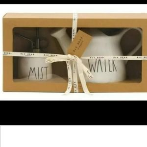 Rae Dunn Watering Can and Mister Gift Set  2 piece